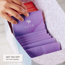 Load image into Gallery viewer, Azah Organic Sanitary Pads | Individual disposal covers