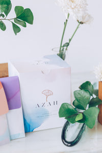 Sample Box of Azah Organic Pads (3 pads)