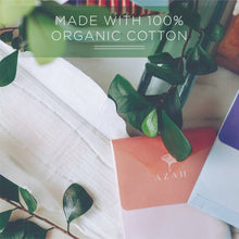 Load image into Gallery viewer, Azah Organic Sanitary Pads | Made with organic cotton
