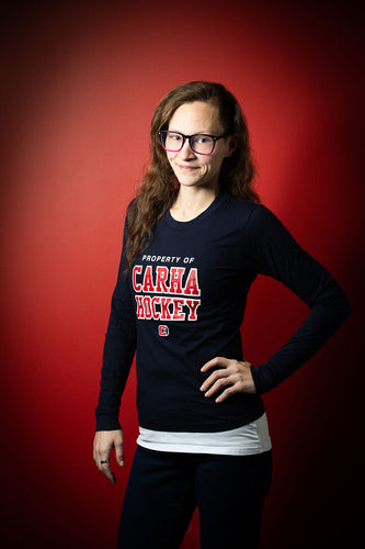 Women's Navy Blue Longsleeve