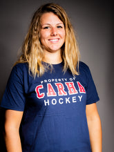 Navy 'Property of CARHA Hockey' Shirt