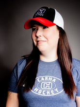CARHA Hockey Hat - Red, Black, White