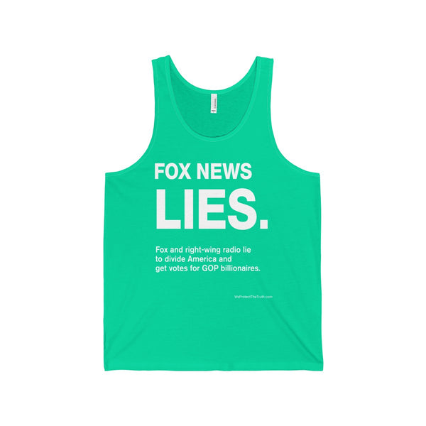 Fox News Lies Tank - great for exercise!