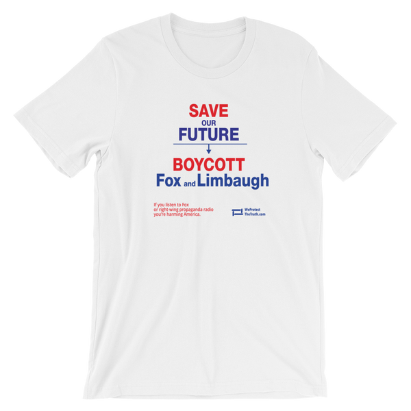 Save Our Future -> Boycott Fox and Limbaugh