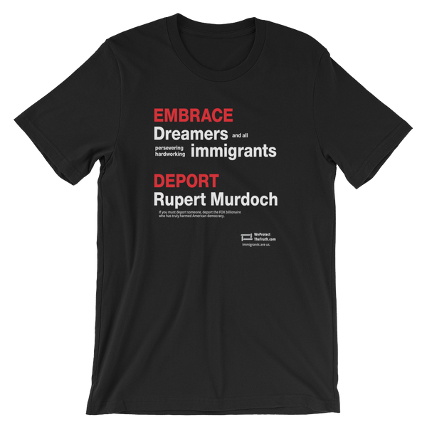 Embrace Immigrants, Deport Rupert Murdoch