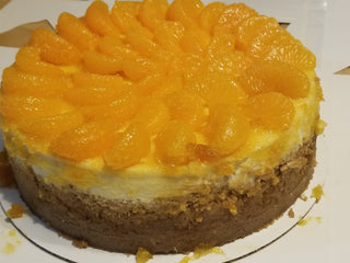 Mandarin Orange Cheesecake - Kitchen Things Plus