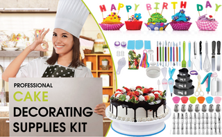 333pc Cake Decorating Set - Kitchen Things Plus