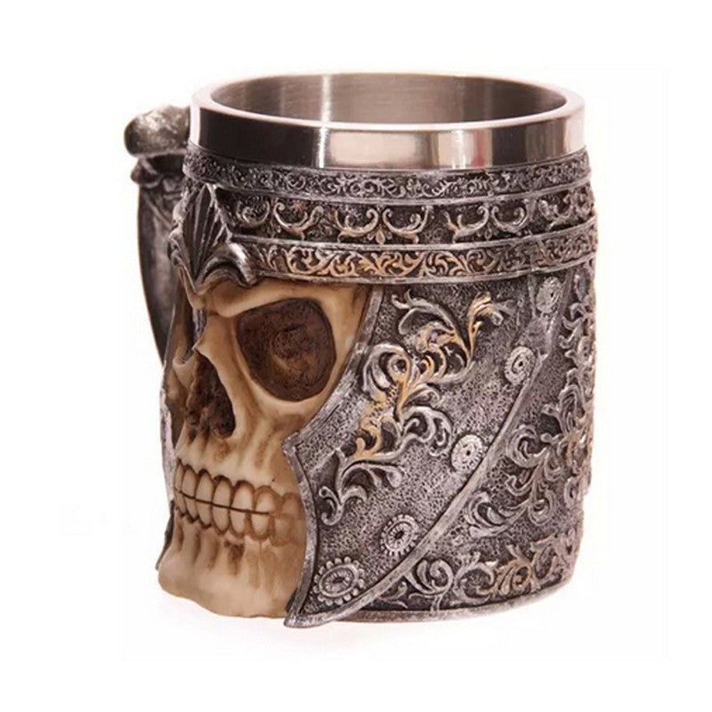 Skull Warrior Viking Mug