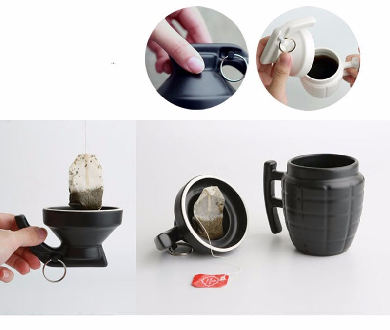 Creative Grenade Coffee Mug