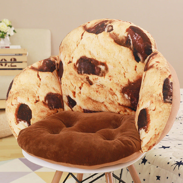 Cookie Decorative Pillow Seat Cushions