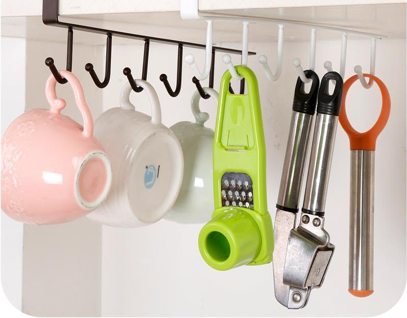 Hook Shelf Dish Hanger