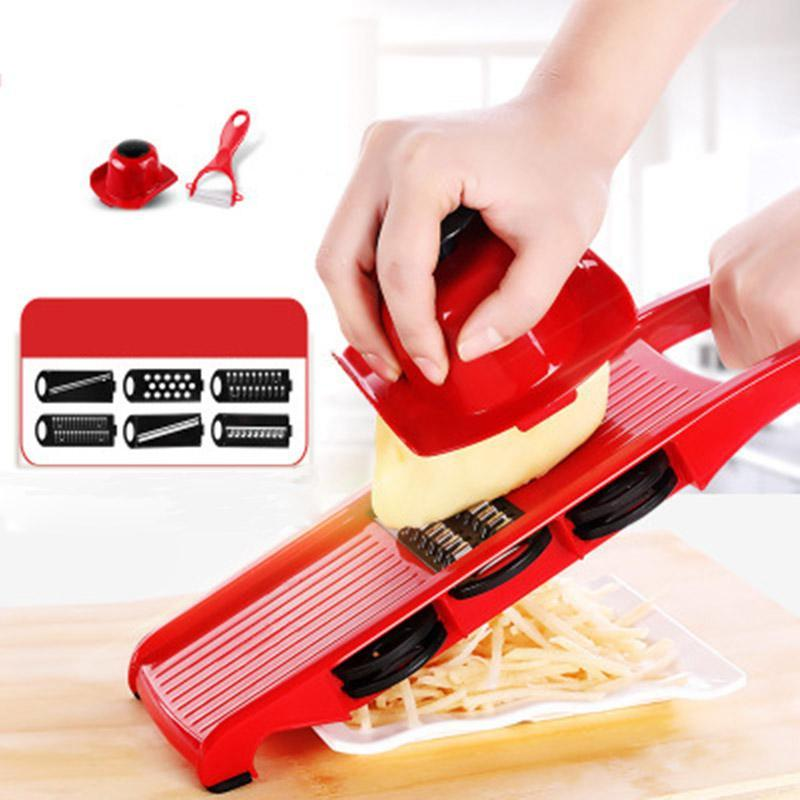 6 Blade Vegetable Fruit Slicer