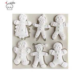Gingerbread Man Silicone Mold - Kitchen Things Plus