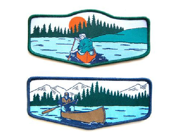 Sanborn Canoe Co. Canoeist Badges
