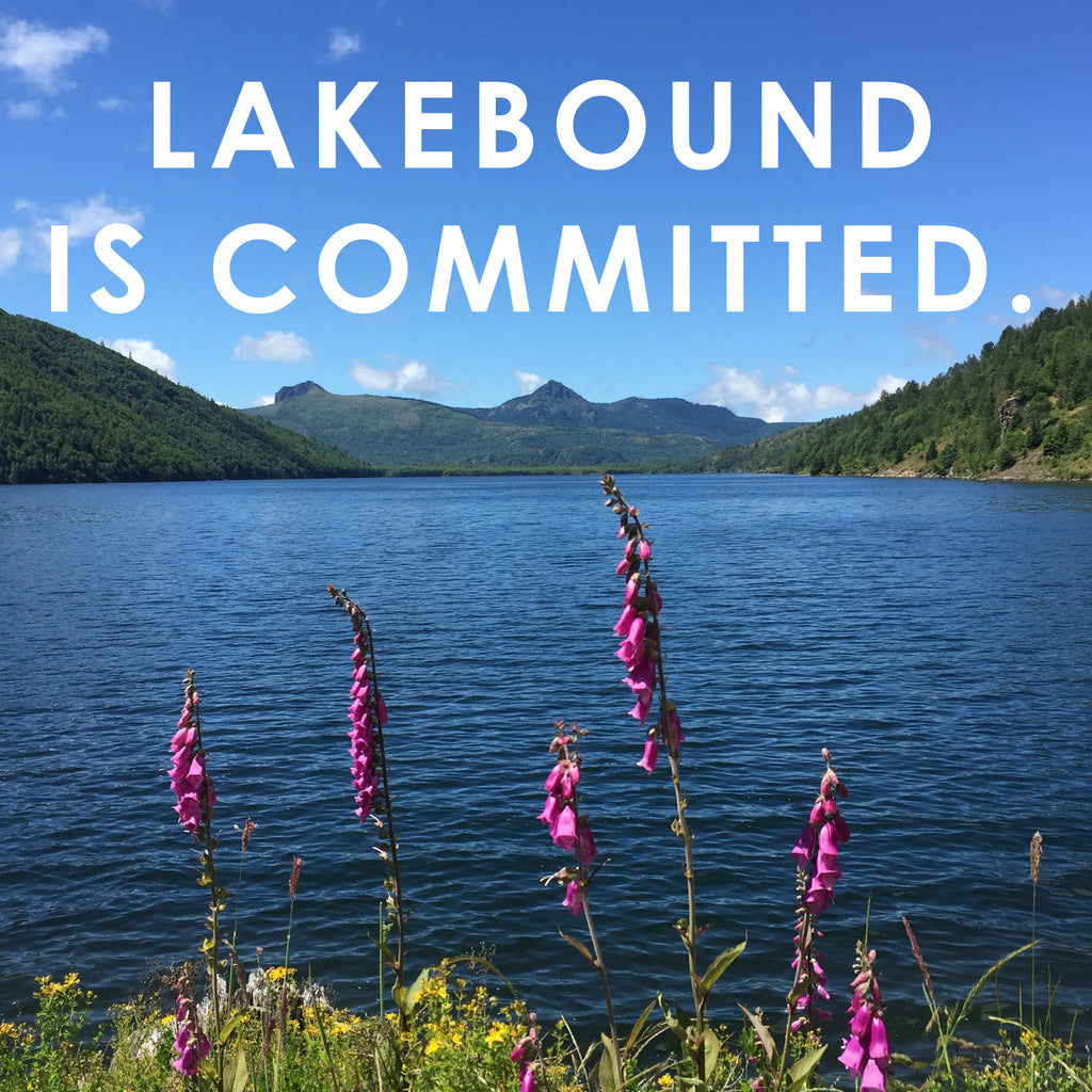 Lakebound is committed.