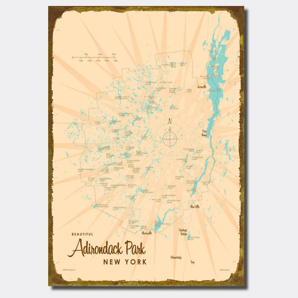 Adirondack Park, New York, Sign