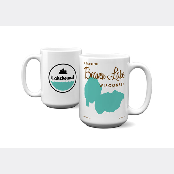 Beaver Lake Wisconsin, 15oz Mug