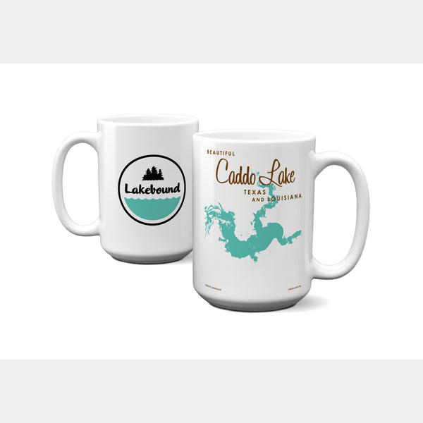 Caddo Lake TX Louisiana, 15oz Mug