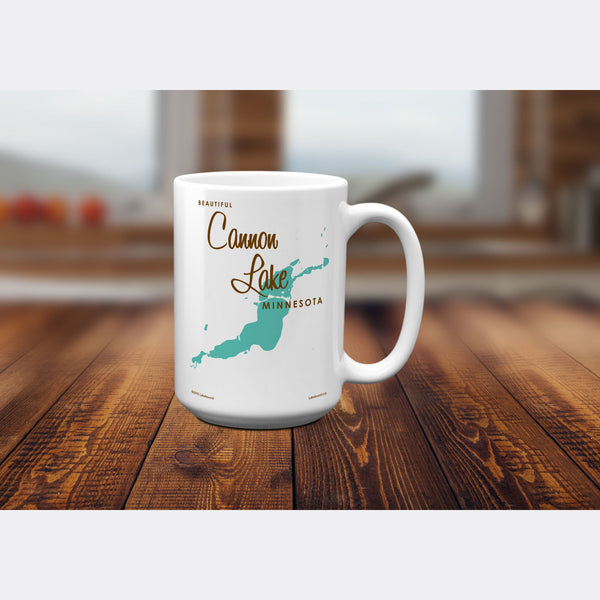 Cannon Lake Minnesota, 15oz Mug