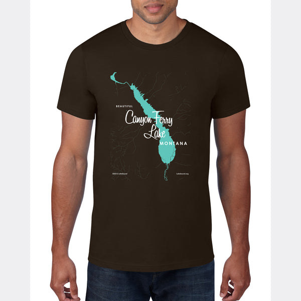 Canyon Ferry Lake Montana, T-Shirt