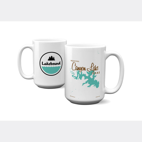 Canyon Lake Texas, 15oz Mug