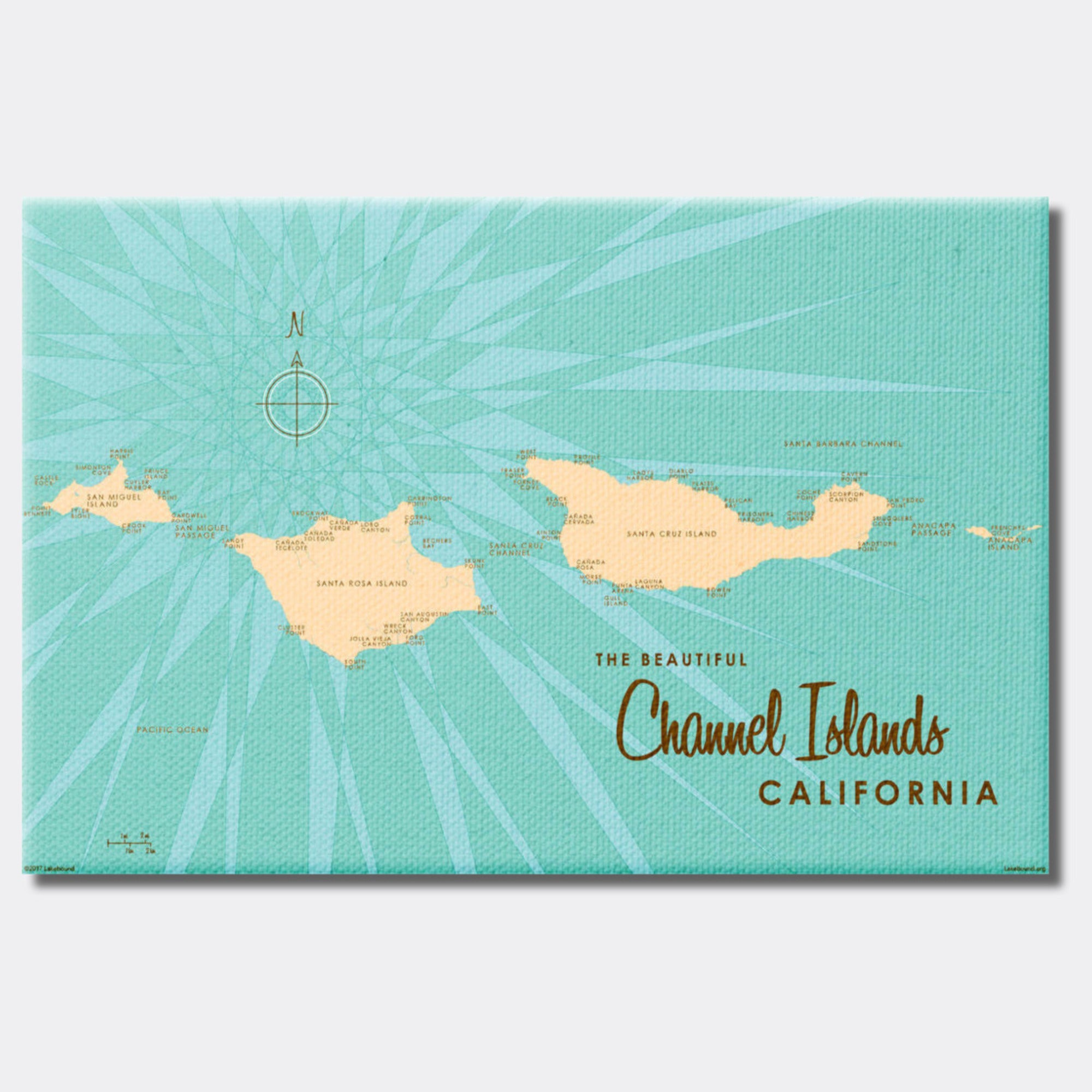Channel Islands California, Canvas Print