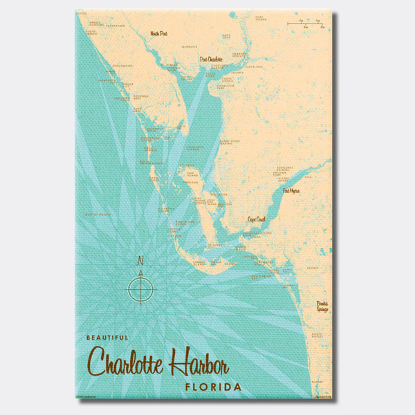 Charlotte Harbor Florida, Canvas Print