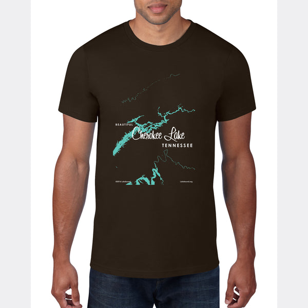 Cherokee Lake Tennessee, T-Shirt