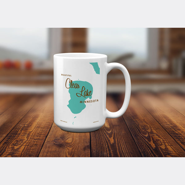 Clear Lake Minnesota, 15oz Mug