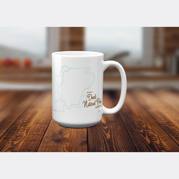 Denali National Park Alaska, 15oz Mug