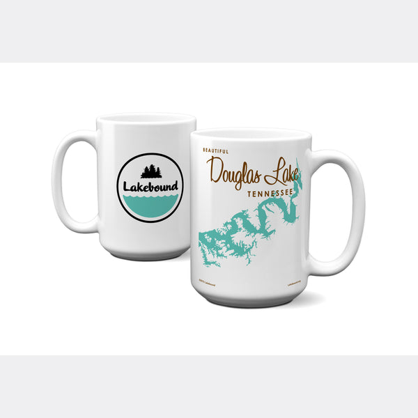 Douglas Lake Tennessee, 15oz Mug