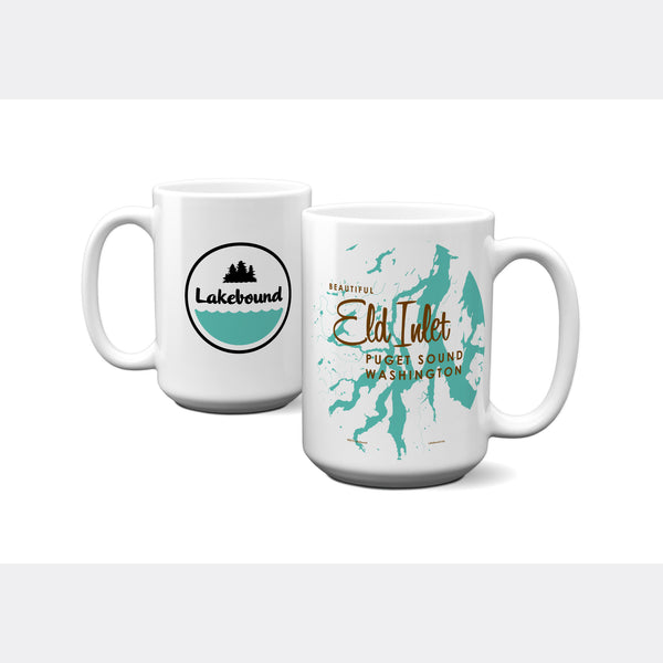 Eld Inlet, Washington, 15oz Mug