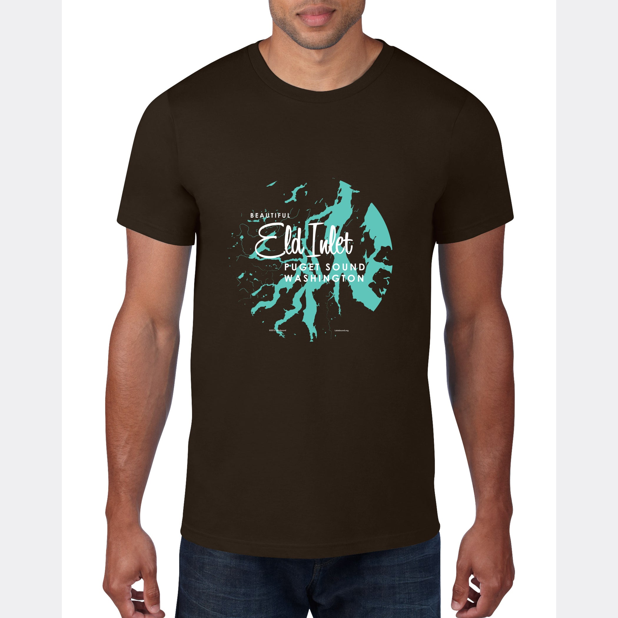 Eld Inlet Washington, T-Shirt