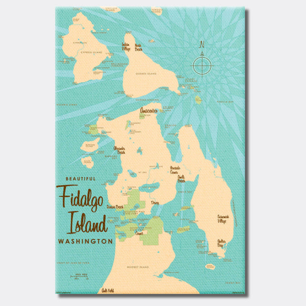 Fidalgo Island Washington, Canvas Print