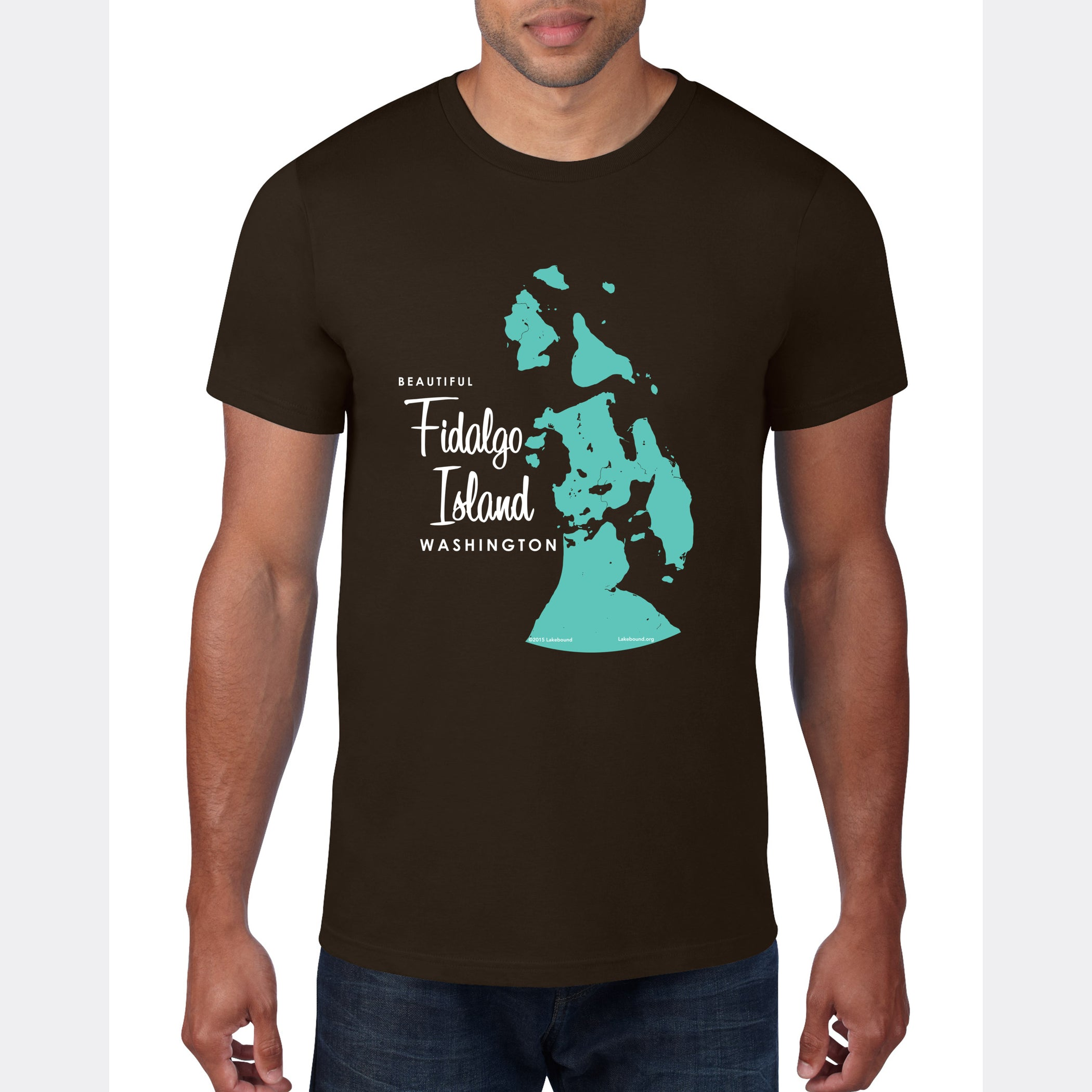 Fidalgo Island Washington, T-Shirt