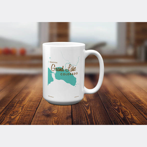 Grand Lake Colorado, 15oz Mug