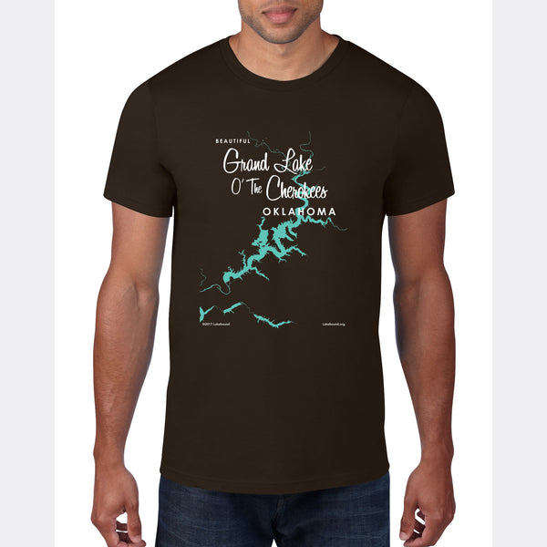 Grand Lake O' The Cherokees Oklahoma, T-Shirt