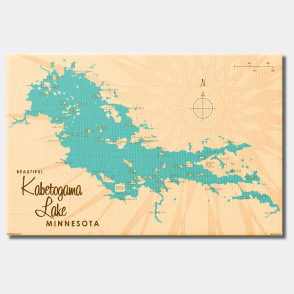 Kabetogama Lake Minnesota, Canvas Print