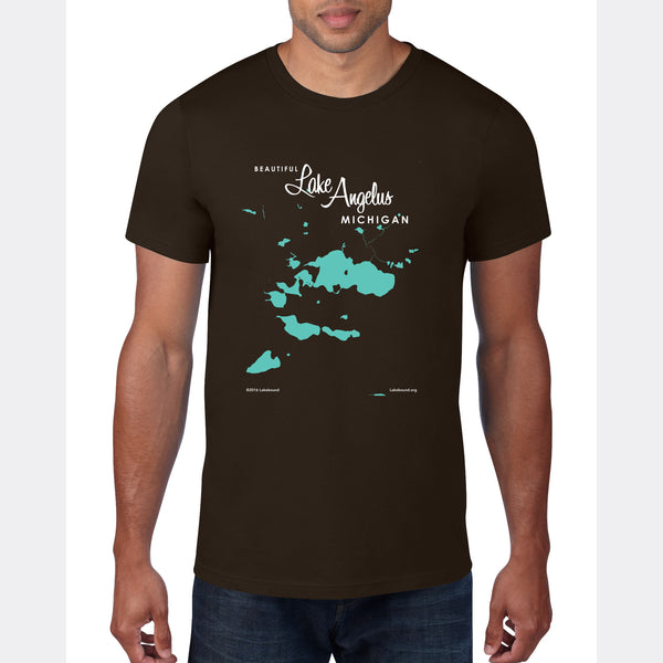Lake Angelus Michigan, T-Shirt