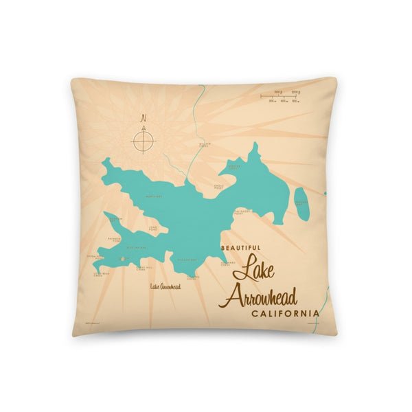 Lake Arrowhead California Pillow