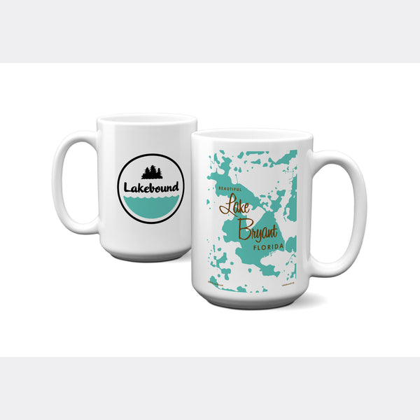 Lake Bryant Florida, 15oz Mug