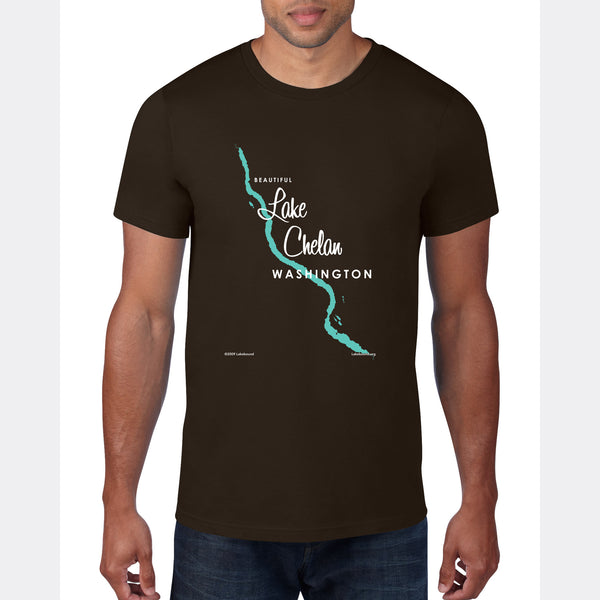 Lake Chelan Washington, T-Shirt