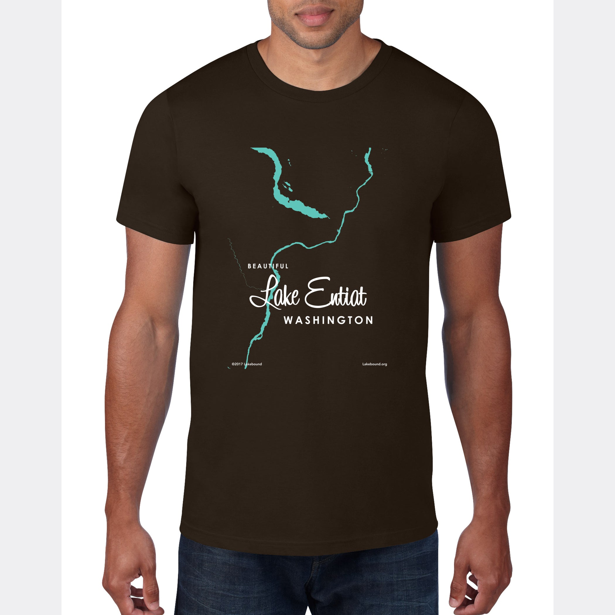 Lake Entiat Washington, T-Shirt