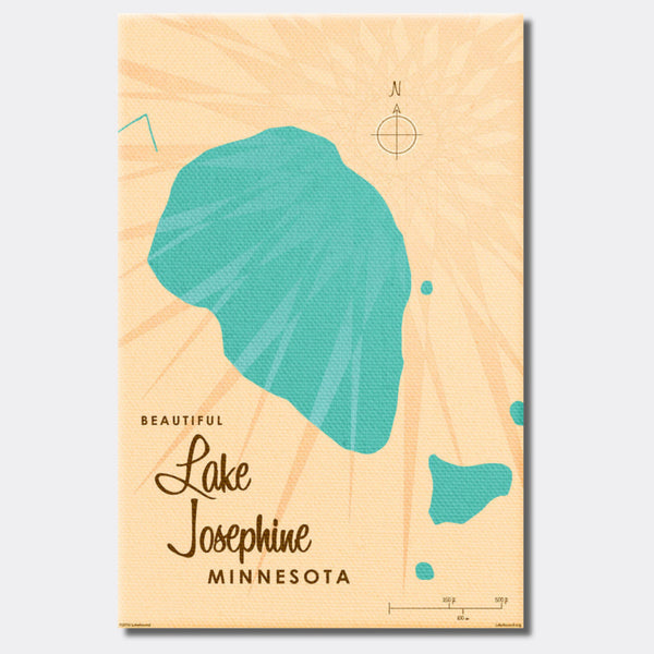 Lake Josephine Minnesota, Canvas Print