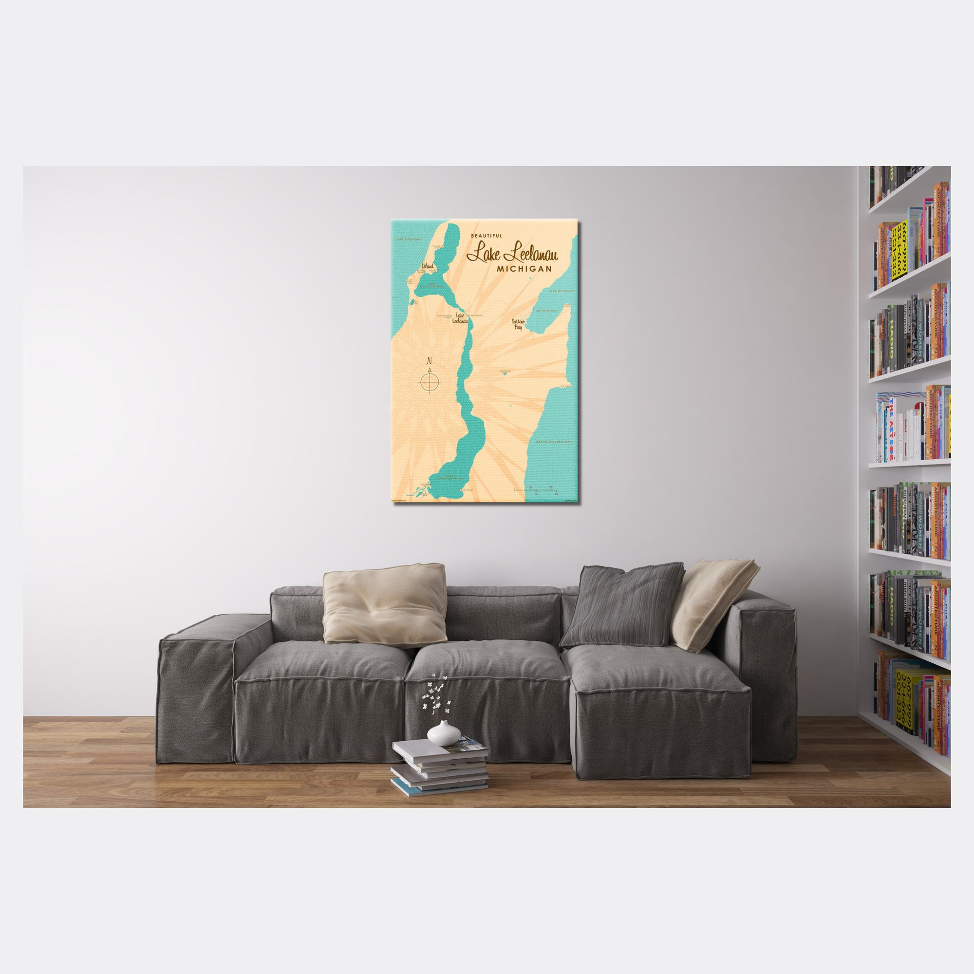 Lake Leelanau Michigan, Canvas Print