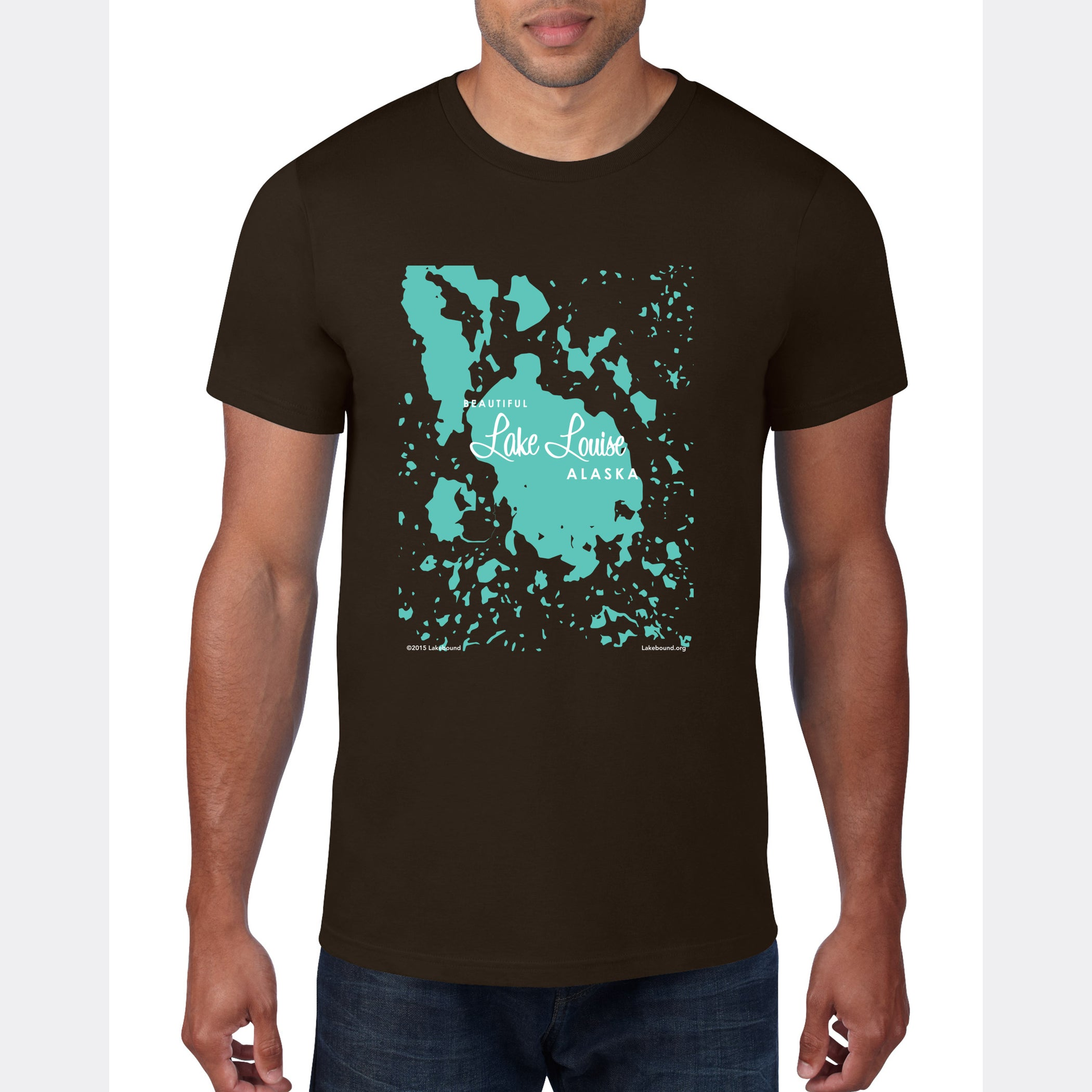 Lake Louise Alaska, T-Shirt