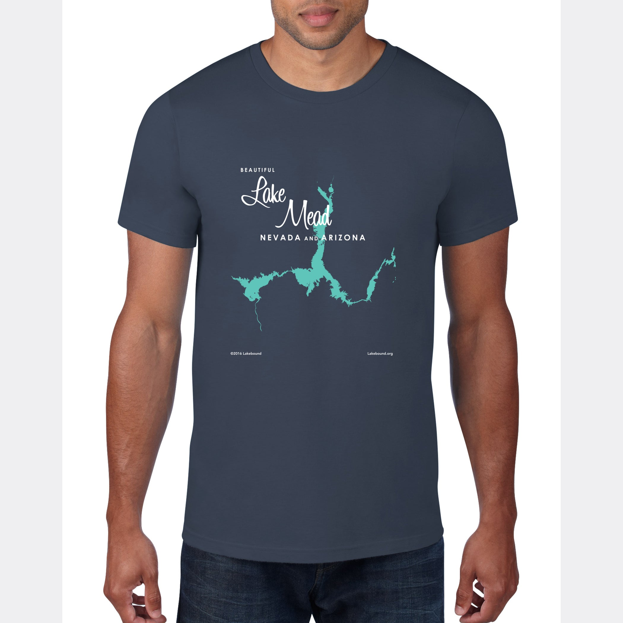 Lake Mead Arizona Nevada, T-Shirt