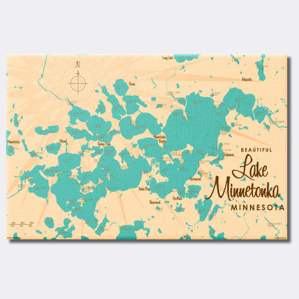 Lake Minnetonka Minnesota, Canvas Print