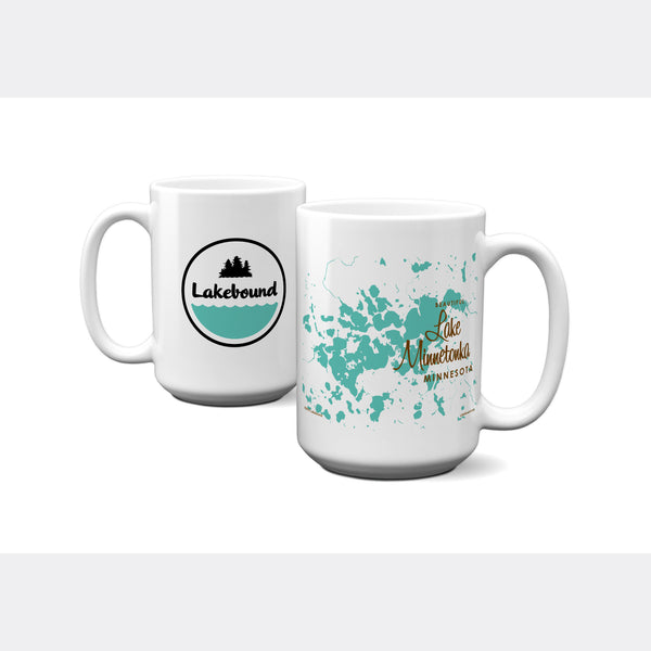 Lake Minnetonka Minnesota, 15oz Mug