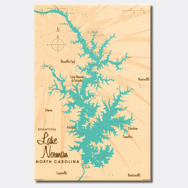 Lake Norman North Carolina, Canvas Print